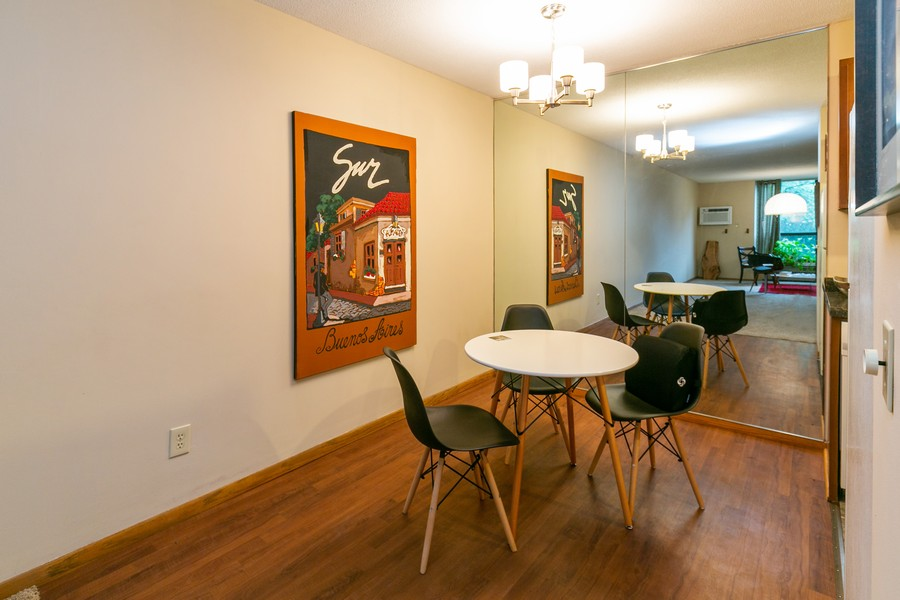 Real Estate Photography - 4530 Park Commons Dr, Unit 320, St Louis Park, MN, 55416 - Dining Room