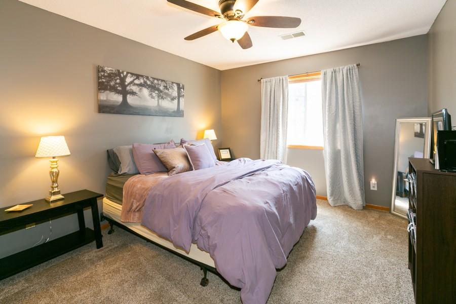 Real Estate Photography - 13212 Aberdeen St NE, Blaine, MN, 55449 - Master Bedroom