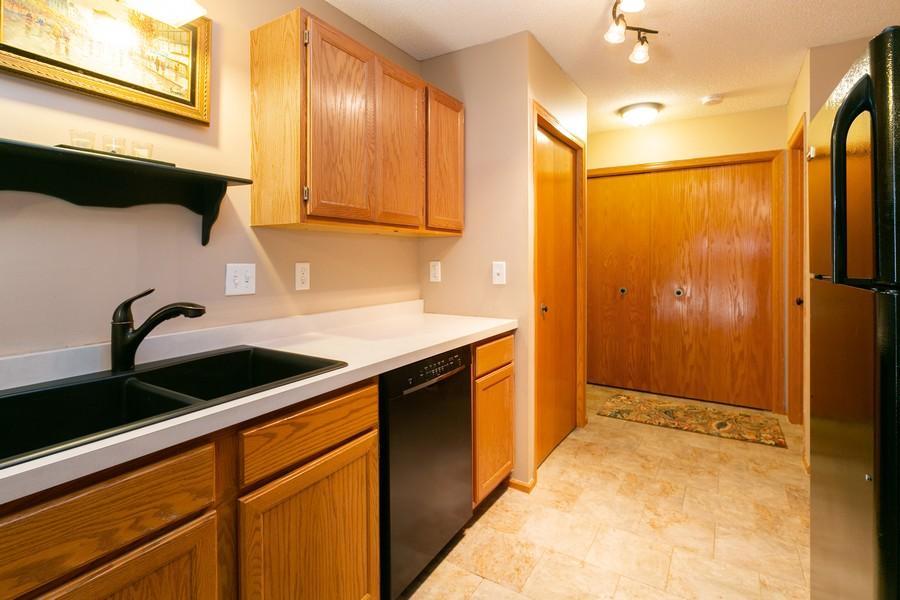 Real Estate Photography - 13212 Aberdeen St NE, Blaine, MN, 55449 - Kitchen