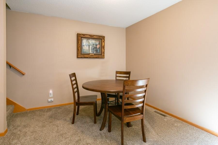 Real Estate Photography - 13212 Aberdeen St NE, Blaine, MN, 55449 - Dinette off of Kitchen