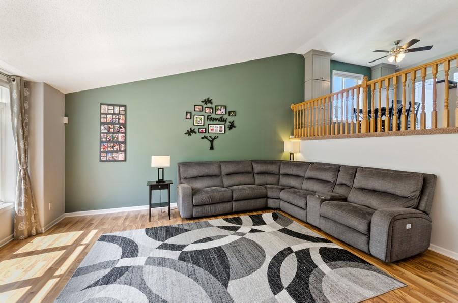 Real Estate Photography - 12494 Davenport Street NE, Blaine, MN, 55449 - Living Room