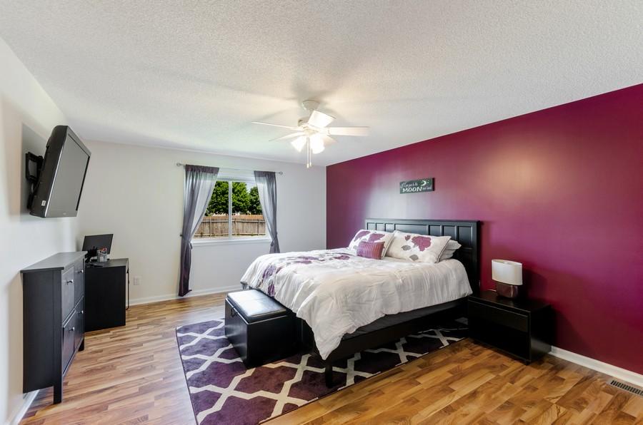 Real Estate Photography - 12494 Davenport Street NE, Blaine, MN, 55449 - Master Bedroom
