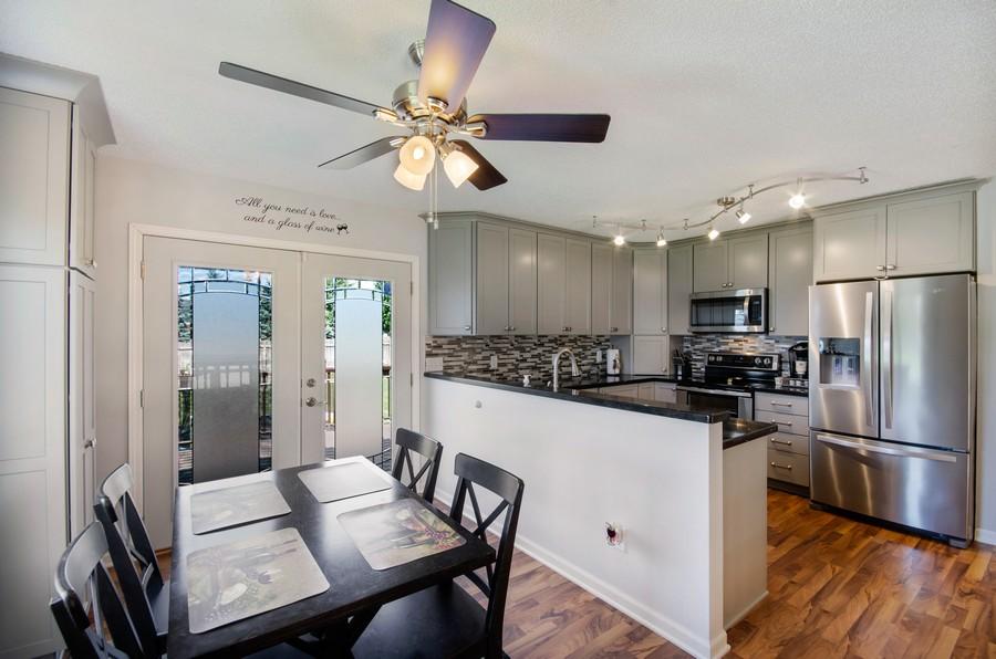 Real Estate Photography - 12494 Davenport Street NE, Blaine, MN, 55449 - Kitchen