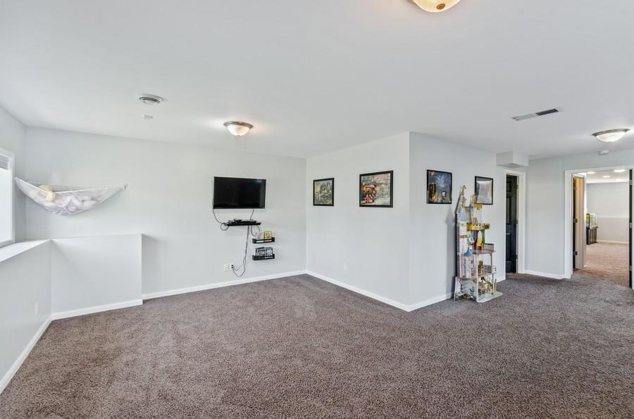 Real Estate Photography - 12494 Davenport Street NE, Blaine, MN, 55449 - Recreational Room