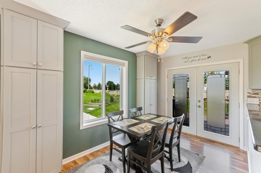 Real Estate Photography - 12494 Davenport Street NE, Blaine, MN, 55449 - Dining Room