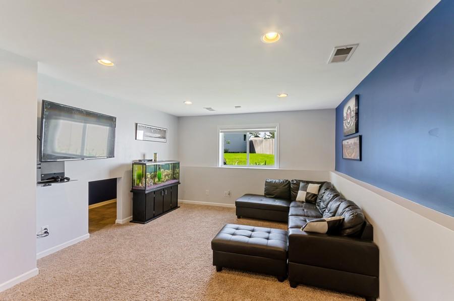 Real Estate Photography - 12494 Davenport Street NE, Blaine, MN, 55449 - Family Room
