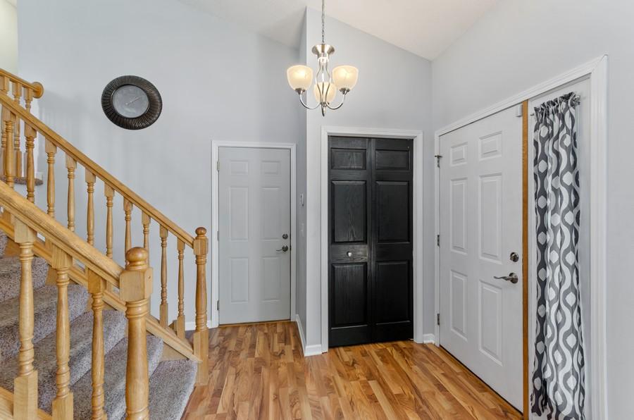 Real Estate Photography - 12494 Davenport Street NE, Blaine, MN, 55449 - Foyer