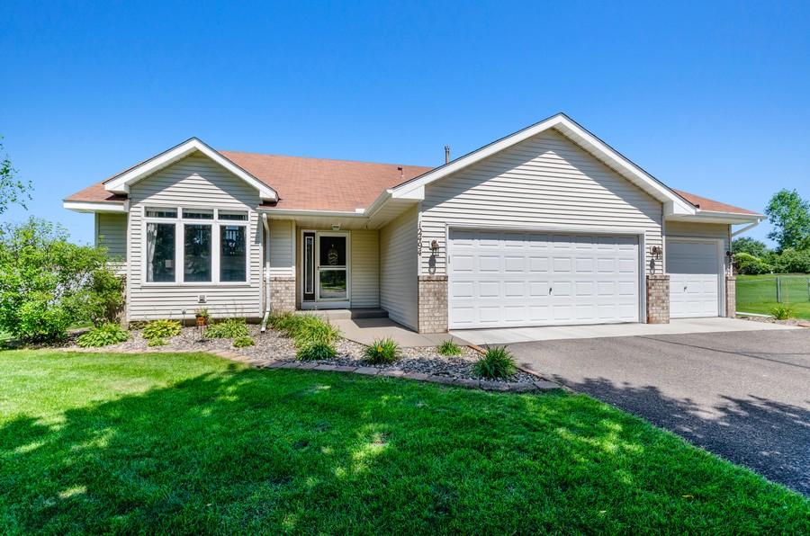 Real Estate Photography - 12494 Davenport Street NE, Blaine, MN, 55449 - Front View