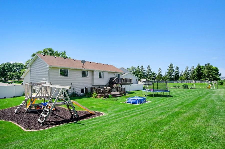 Real Estate Photography - 12494 Davenport Street NE, Blaine, MN, 55449 - Rear View