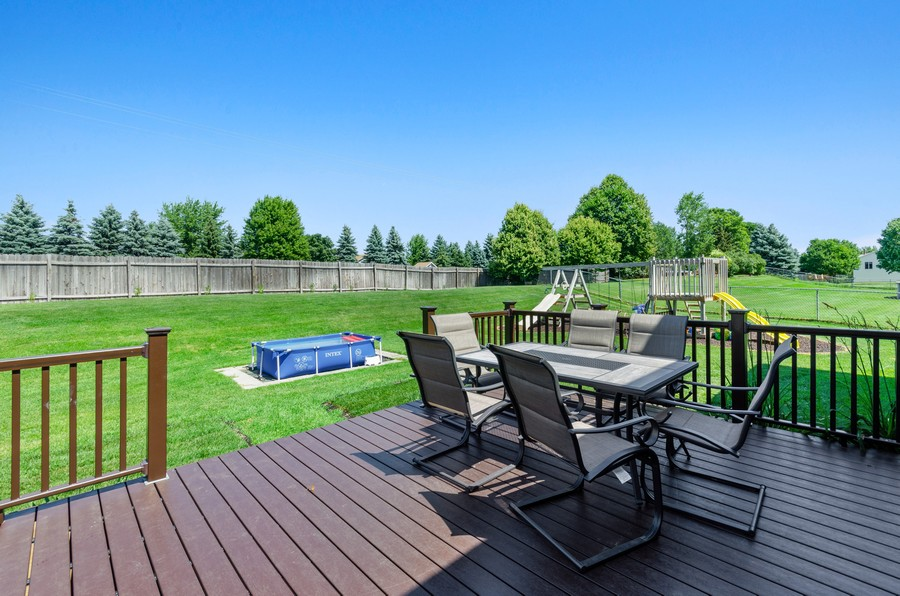 Real Estate Photography - 12494 Davenport Street NE, Blaine, MN, 55449 - Deck