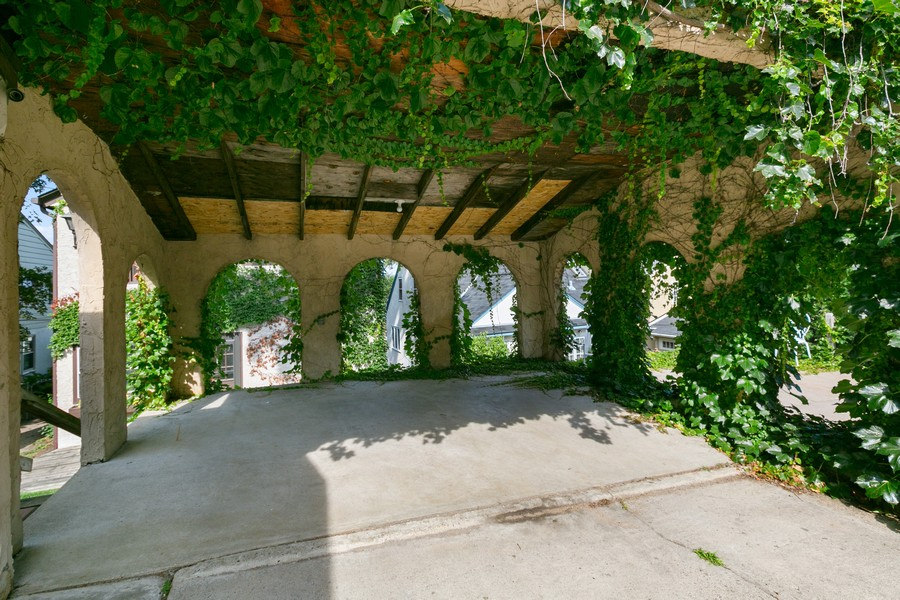 Real Estate Photography - 5333 Fremont Ave S, Minneapolis, MN, 55409 - Carport Inside View