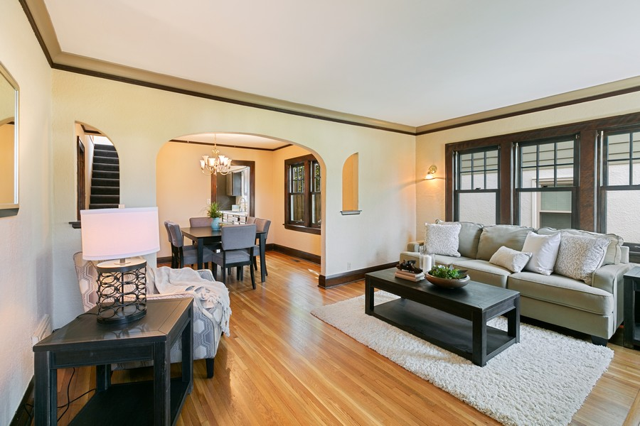 Real Estate Photography - 5333 Fremont Ave S, Minneapolis, MN, 55409 - Living Room