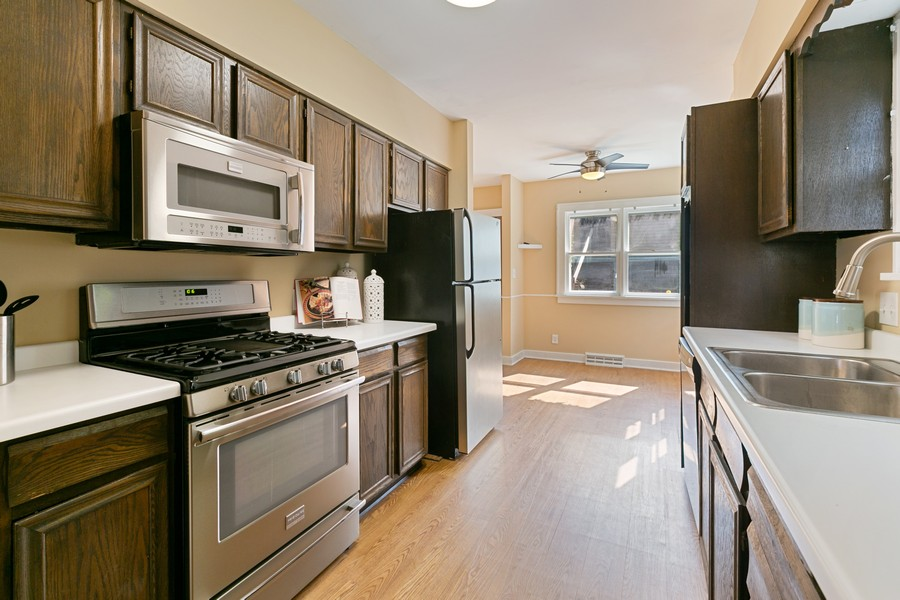 Real Estate Photography - 5333 Fremont Ave S, Minneapolis, MN, 55409 - Kitchen