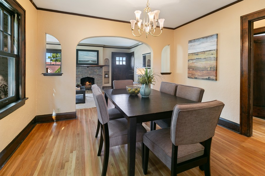 Real Estate Photography - 5333 Fremont Ave S, Minneapolis, MN, 55409 - Dining Room