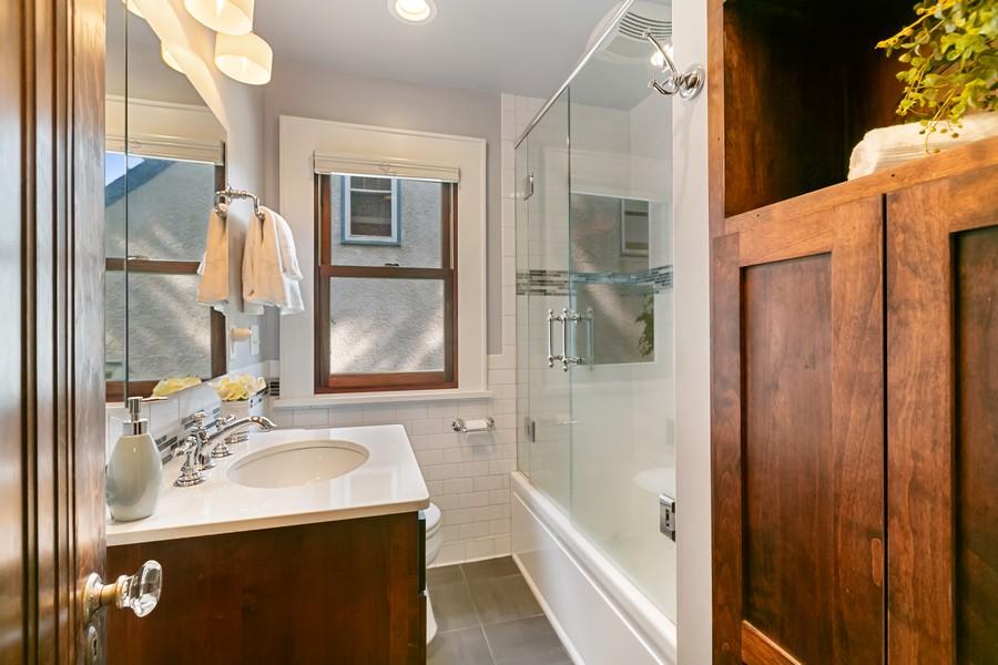 Real Estate Photography - 5333 Fremont Ave S, Minneapolis, MN, 55409 - Main Floor FULL Bath