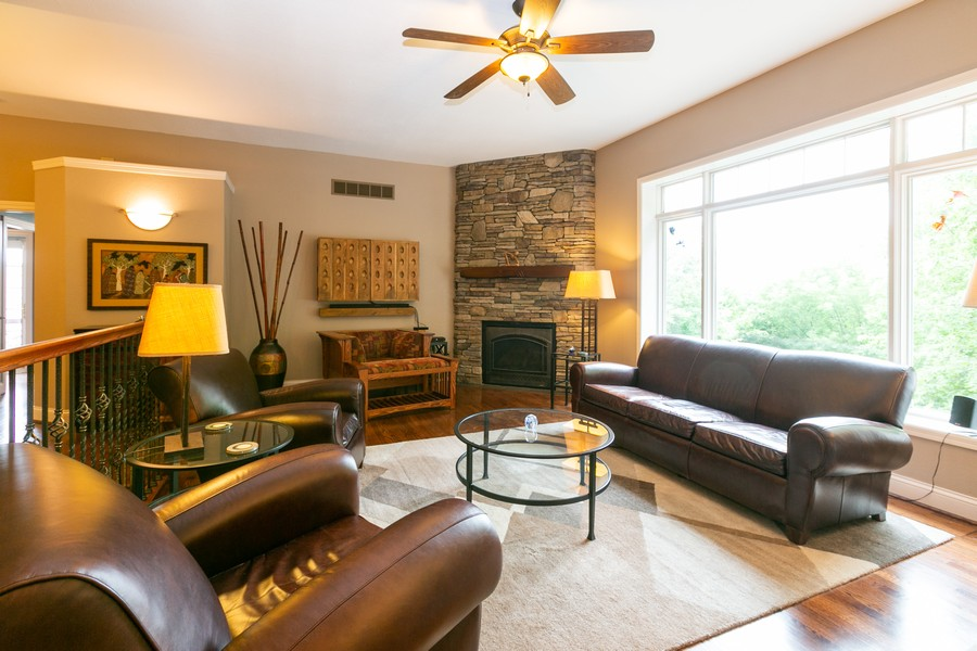 Real Estate Photography - 18978 Embry Ave, Farmington, MN, 55124 - Living Room