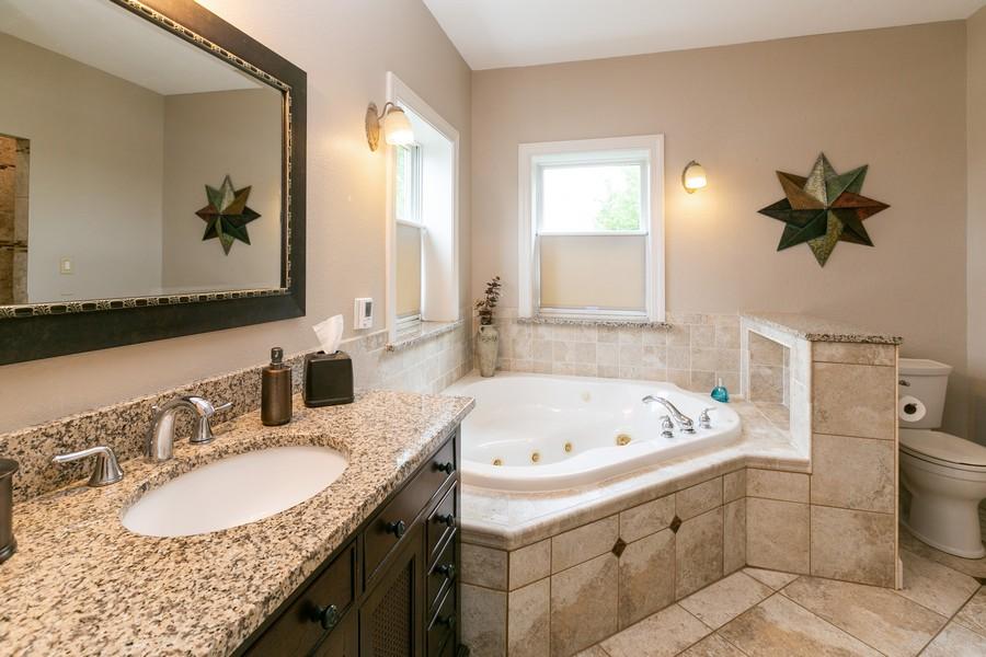Real Estate Photography - 18978 Embry Ave, Farmington, MN, 55124 - Master Bathroom