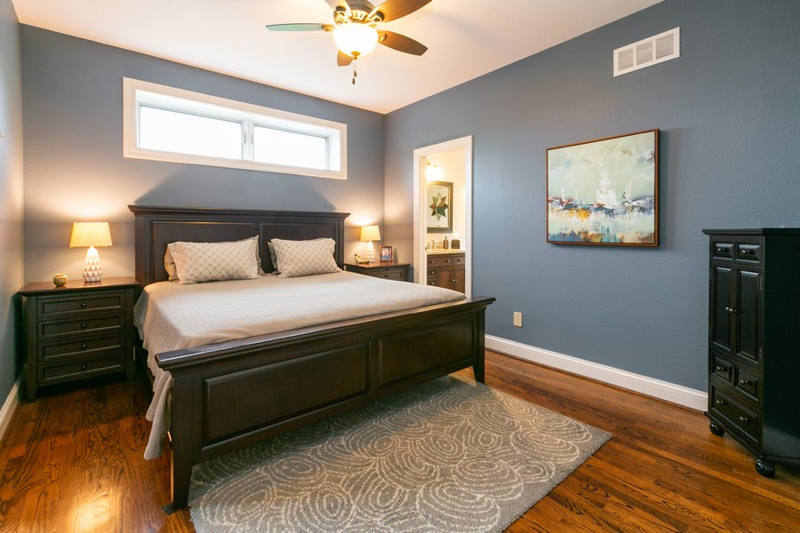 Real Estate Photography - 18978 Embry Ave, Farmington, MN, 55124 - Master Bedroom