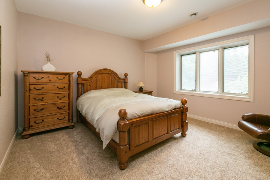 Real Estate Photography - 18978 Embry Ave, Farmington, MN, 55124 - Lower Level 3rd Bedroom