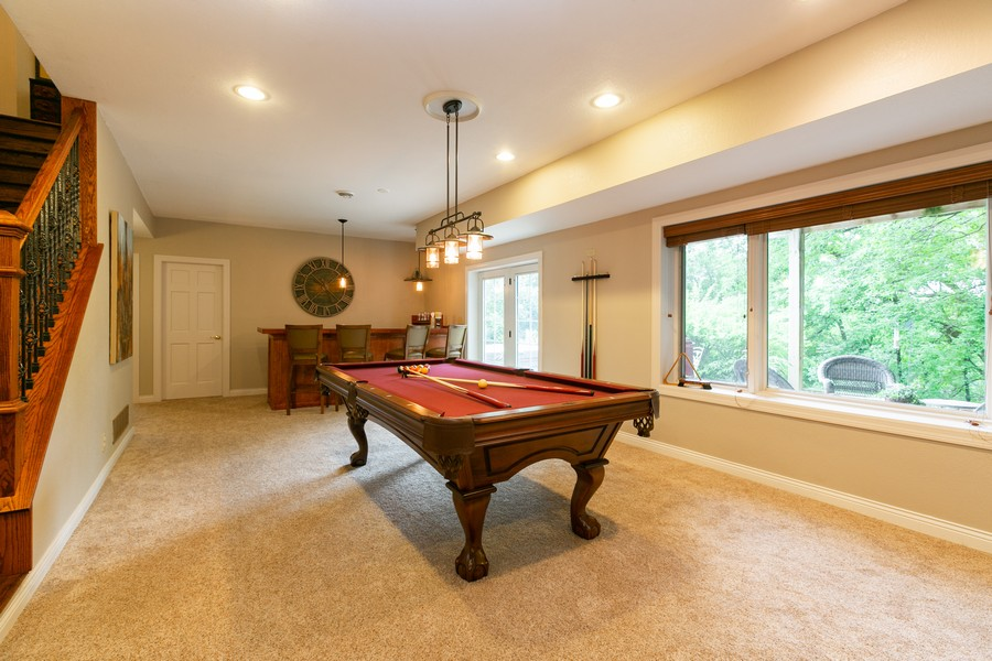 Real Estate Photography - 18978 Embry Ave, Farmington, MN, 55124 - Lower Level Wet Bar