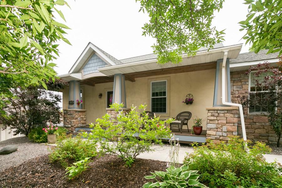 Real Estate Photography - 18978 Embry Ave, Farmington, MN, 55124 - Front Porch