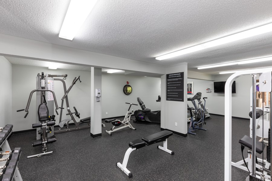Real Estate Photography - 205 Barry St, Unit 206, Wayzata, MN, 55391 - Exercise Room