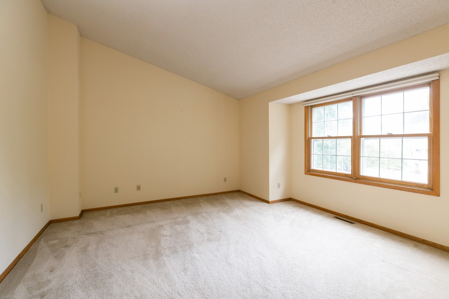 Real Estate Photography - 8055 Curtis Lane, Eden Prairie, MN, 55347 - Master Bedroom