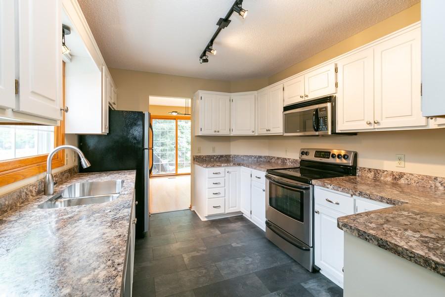 Real Estate Photography - 8055 Curtis Lane, Eden Prairie, MN, 55347 - Kitchen