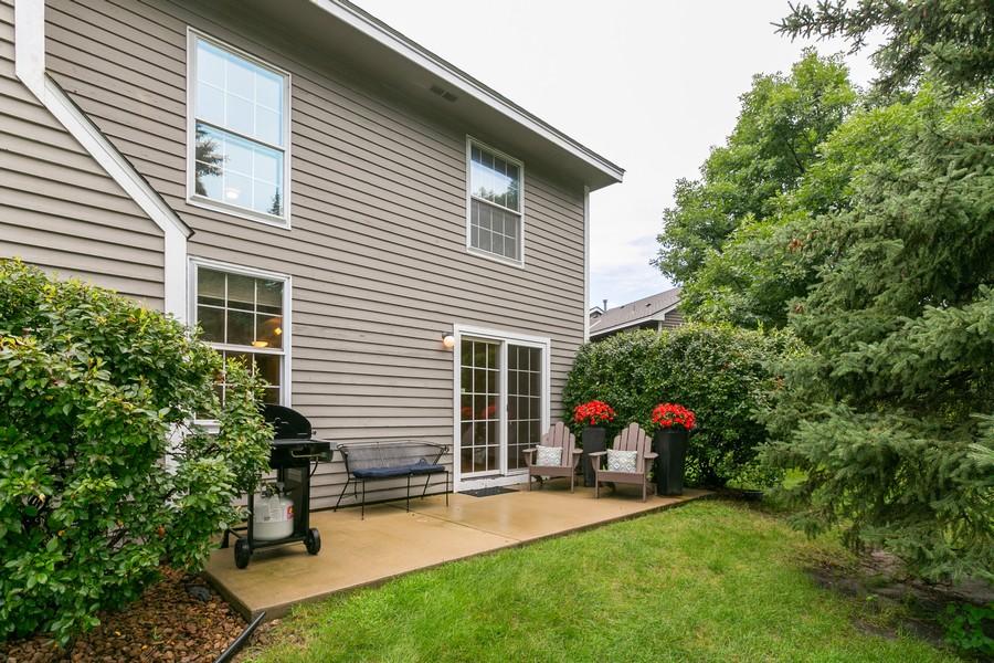 Real Estate Photography - 8055 Curtis Lane, Eden Prairie, MN, 55347 - Back Yard