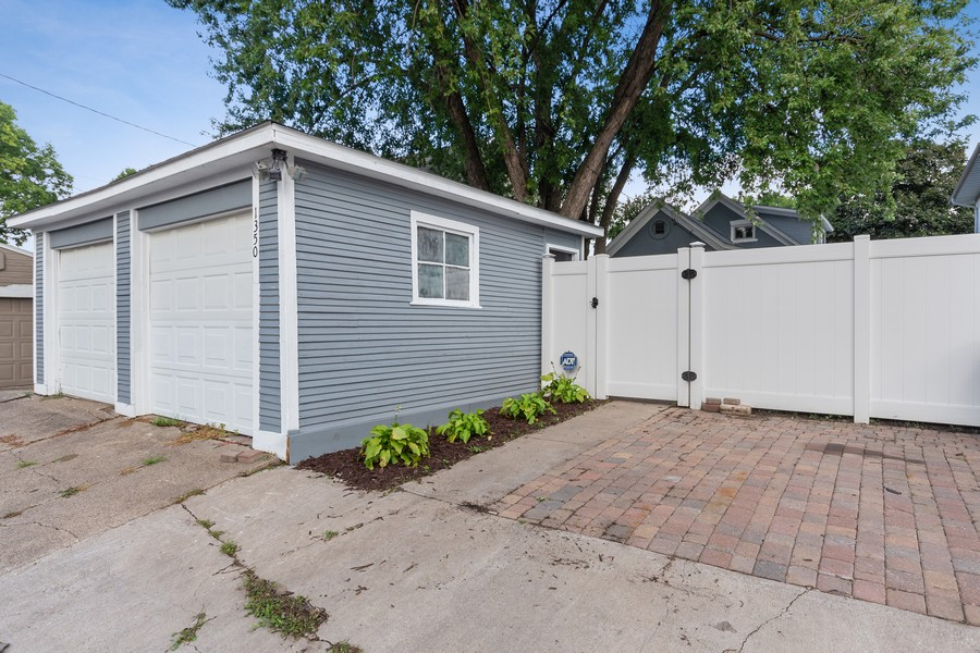 Real Estate Photography - 1350 Charles Ave, St. Paul, MN, 55104 - Garage