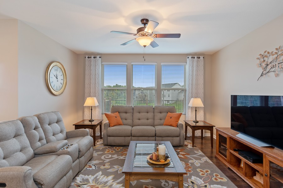 Real Estate Photography - 5620 Dallas Lane North, Plymouth, MN, 55446 - Living Room