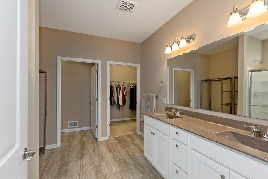 Real Estate Photography - 5620 Dallas Lane North, Plymouth, MN, 55446 - Master Bathroom