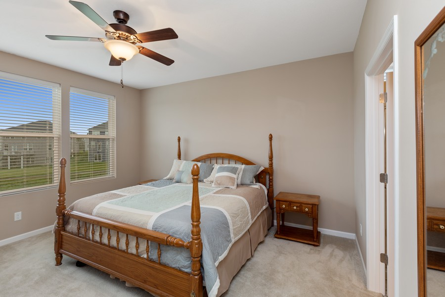 Real Estate Photography - 5620 Dallas Lane North, Plymouth, MN, 55446 - Master Bedroom