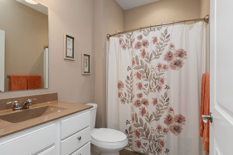 Real Estate Photography - 5620 Dallas Lane North, Plymouth, MN, 55446 - 2nd Bathroom