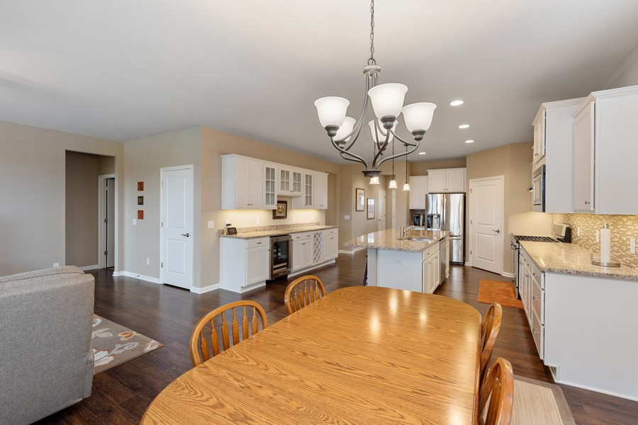 Real Estate Photography - 5620 Dallas Lane North, Plymouth, MN, 55446 - Kitchen / Dining Room
