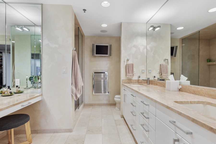 Real Estate Photography - 401 North 2nd Street, #701, Minneapolis, MN, 55401 - Master Bathroom