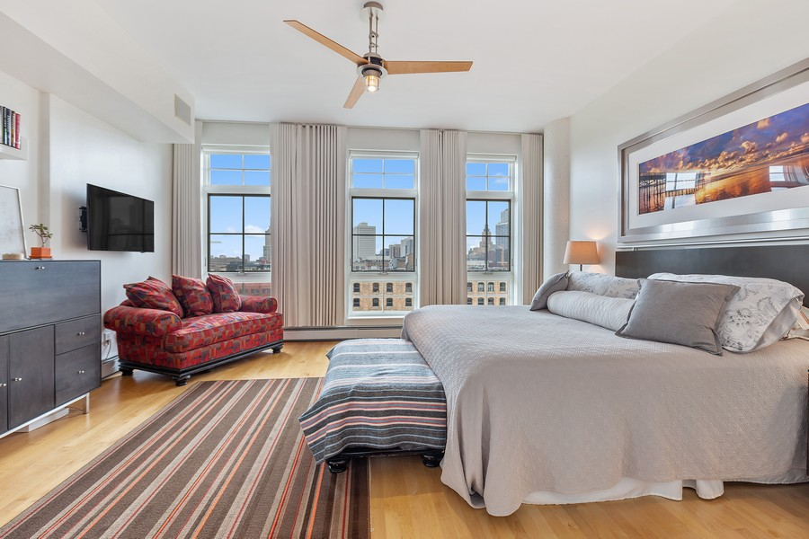 Real Estate Photography - 401 North 2nd Street, #701, Minneapolis, MN, 55401 - Master Bedroom