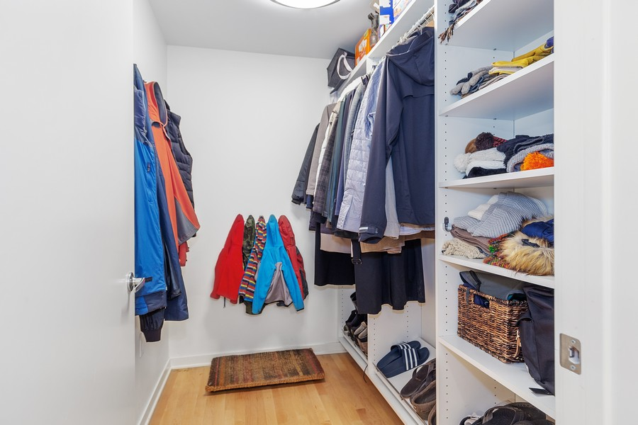Real Estate Photography - 401 North 2nd Street, #701, Minneapolis, MN, 55401 - Mudroom