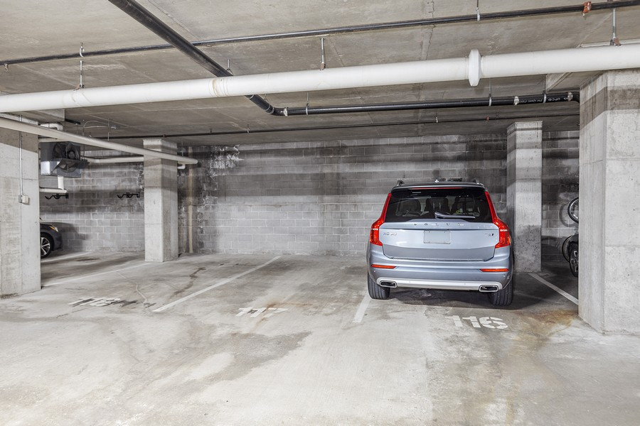 Real Estate Photography - 401 North 2nd Street, #701, Minneapolis, MN, 55401 - Parking Garage