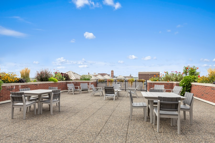 Real Estate Photography - 401 North 2nd Street, #701, Minneapolis, MN, 55401 - Patio