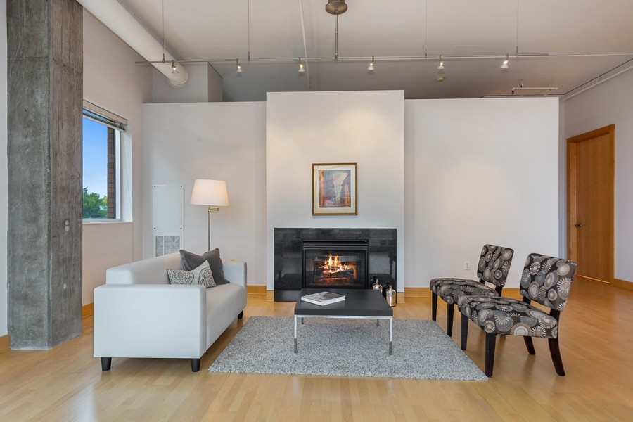 Real Estate Photography - 100 2nd Street NE #A350, Minneapolis, MN, 55413 - Living Room