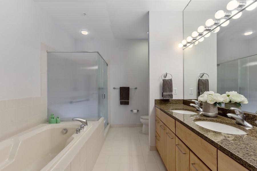 Real Estate Photography - 100 2nd Street NE #A350, Minneapolis, MN, 55413 - Master Bathroom