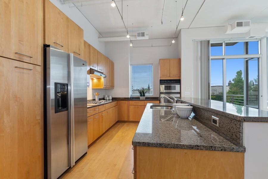 Real Estate Photography - 100 2nd Street NE #A350, Minneapolis, MN, 55413 - Kitchen