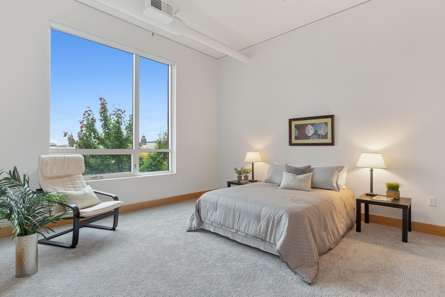 Real Estate Photography - 100 2nd Street NE #A350, Minneapolis, MN, 55413 - Master Bedroom