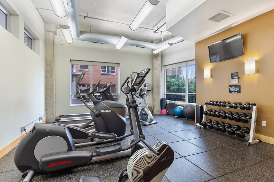 Real Estate Photography - 100 2nd Street NE #A350, Minneapolis, MN, 55413 - Exercise Room