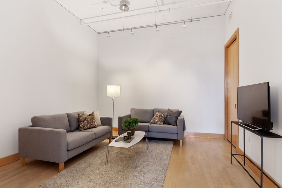 Real Estate Photography - 100 2nd Street NE #A350, Minneapolis, MN, 55413 - Sitting Room