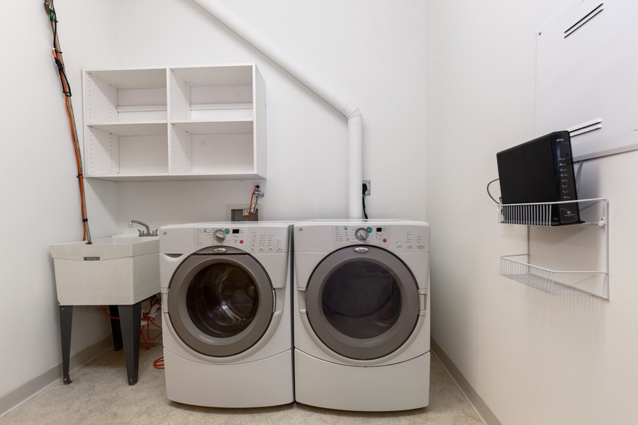 Real Estate Photography - 100 2nd Street NE #A350, Minneapolis, MN, 55413 - Laundry Room