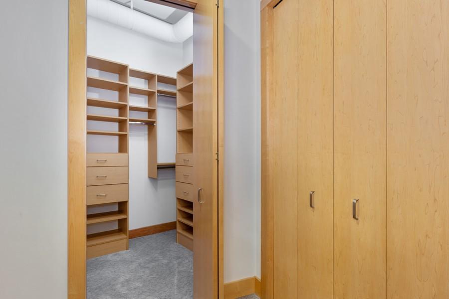 Real Estate Photography - 100 2nd Street NE #A350, Minneapolis, MN, 55413 - Master Bedroom Closet