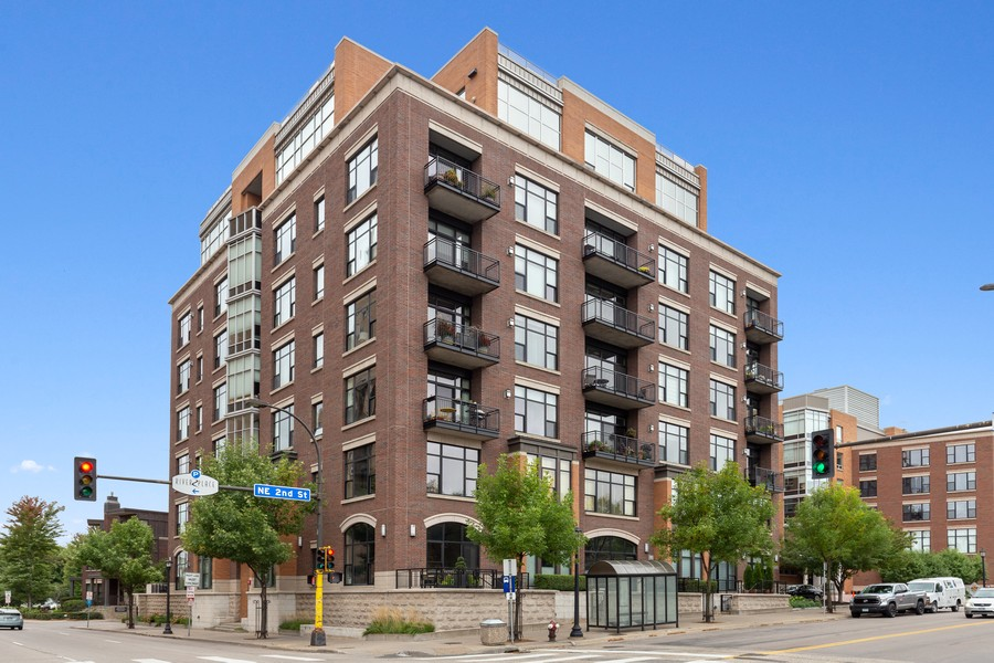 Real Estate Photography - 100 2nd Street NE #A350, Minneapolis, MN, 55413 - Front View