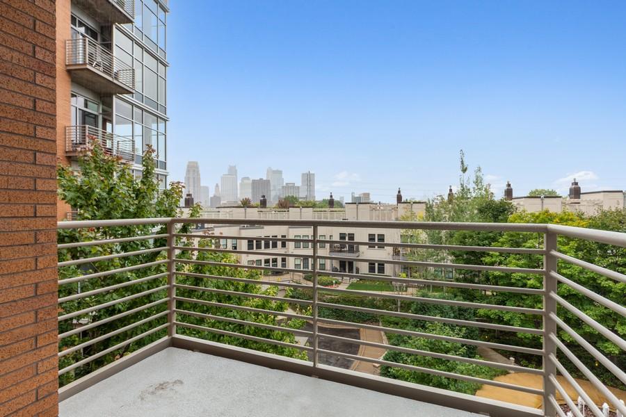 Real Estate Photography - 100 2nd Street NE #A350, Minneapolis, MN, 55413 - Deck